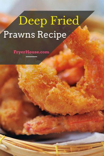 Easy Deep Fried Prawns Recipe