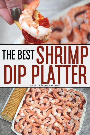 Easy Shrimp Dip Platter