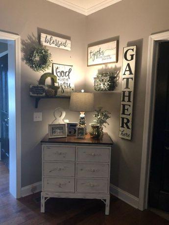 46 Popular Living Room Decor Ideas With Farmhouse Style