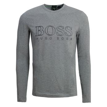 51ae15405 Details about Hugo Boss mens longsleeve TOGN US 50393187 059 Grey
