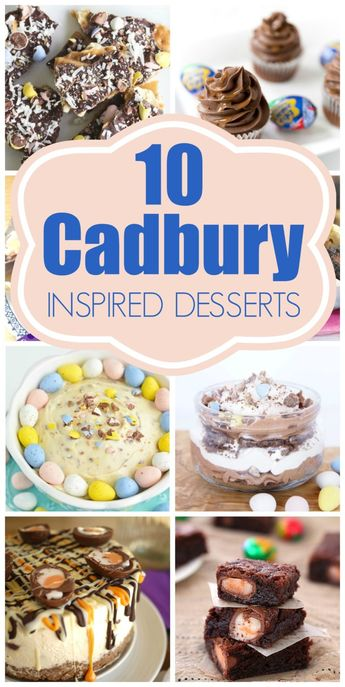10 Outrageous Cadbury Egg Inspired Desserts