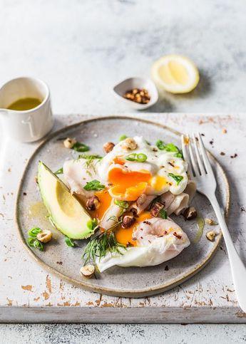 Breadless Eggs Benedict