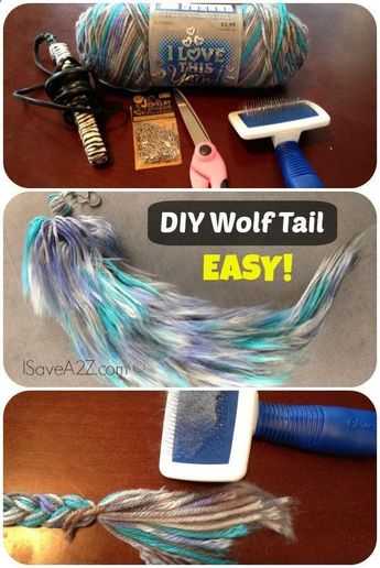 Costume Wolf Tail Tutorial