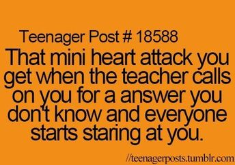 That is soo true!! It's me in maths class all the time, I hate when my teacher