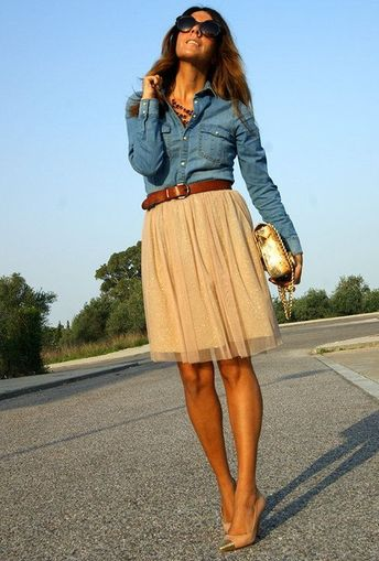 Tulle Skirts Incredibly Chic Ways To Wear It 2019