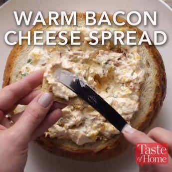 Warm Bacon Cheese Spread