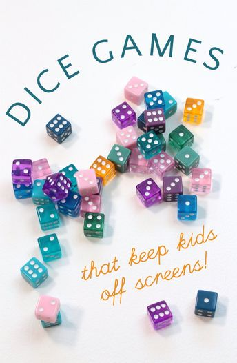Best Dice Games for Kids: Have Fun and Learn New Skills!