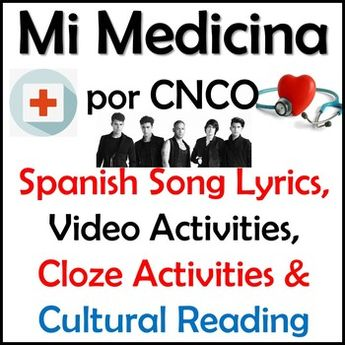 It Ain't Me Spanish Song Lyrics & Activities - Kevin Karla
