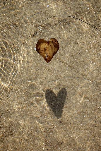 I ♥ otoño en la playa