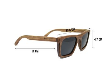 fbf539730 Óculos de madeira Allsun - Allwood - Confira Aqui