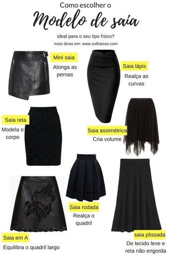 Como escolher o modelo de saia que valoriza o seu corpo?