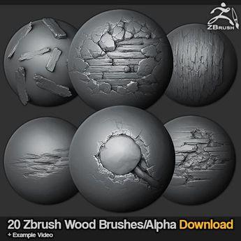 ArtStation - Zbrush Brushes - Stylized Rock, Jonas Ronnegar