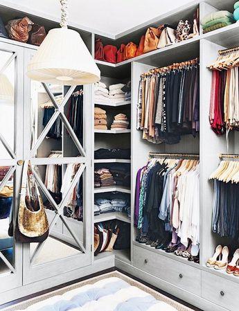 The Smaller Walk-In Wardrobe