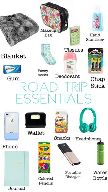 Road Trip Essentials! What to bring with you on your next road trip! - #bring #Essentials #road #trip