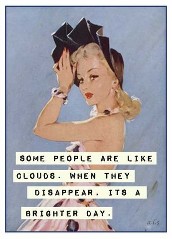 Yes it is and any time that cloud disappears I'm so happy! Well either way I'm h