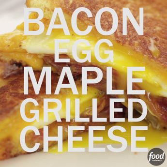 Bacon, Egg and Maple Grilled Cheese