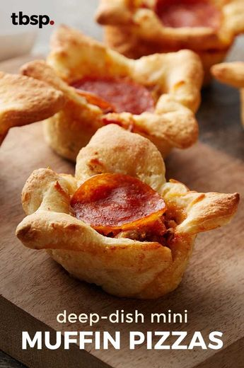 Deep-Dish Muffin-Tin Pizzas