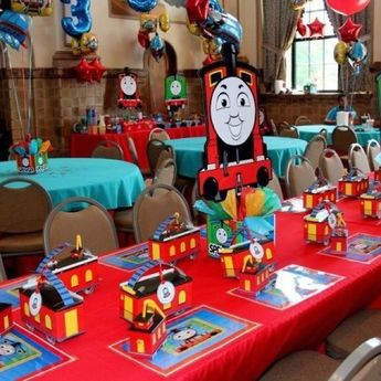 Remarkable Thomas The Train Birthday Party Planning Ideas Supplies Id Home Interior And Landscaping Sapresignezvosmurscom