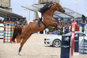 McLain Ward storms to victory in the LGCT Antwerp Grand prix with Rothchild #showjumping