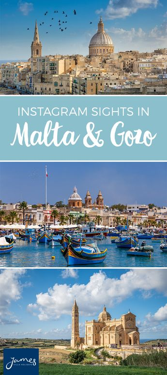 Instagram Sights in Malta and Gozo