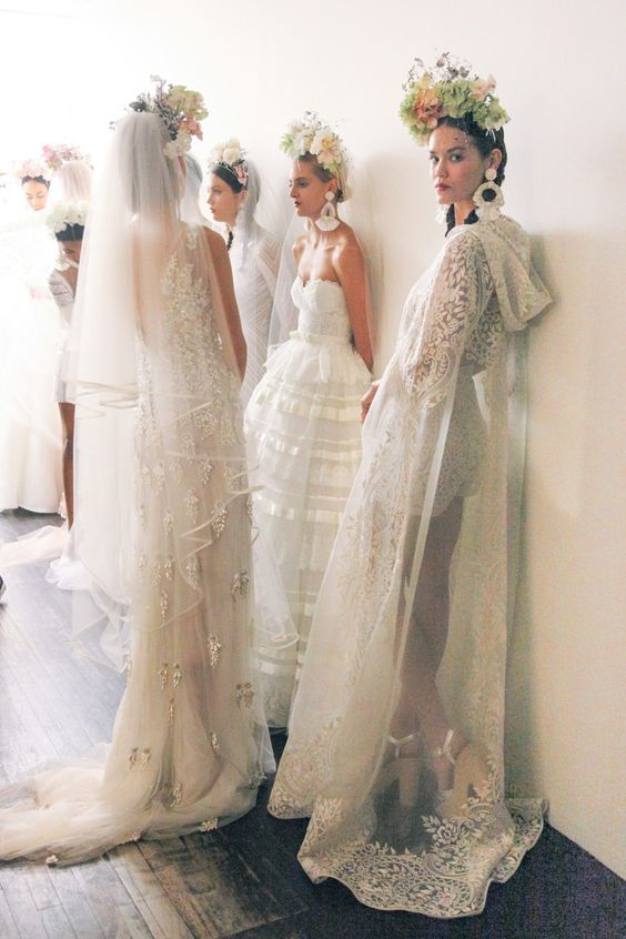 art, travel and the romance & glamour wedding dresses