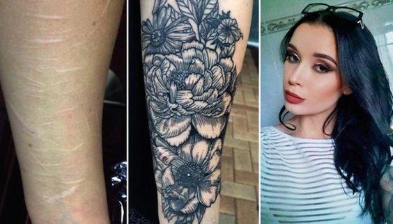 L'artista australiano del tatuaggio copre gratuitamente le cicatrici autolesionistiche delle persone.