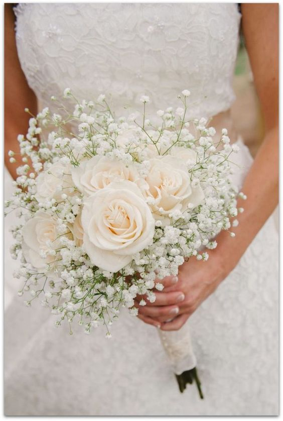 Los 18 ramos de novia de rosas más originales y románticos – Flores para Siempre | Lucia Cano