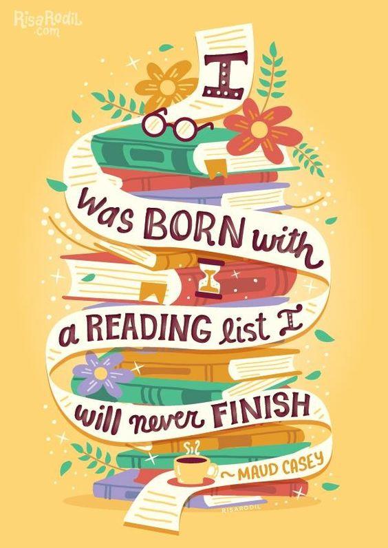 I love reading!!!