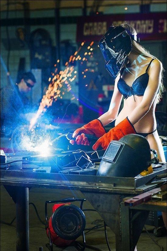 Welding Hotty.