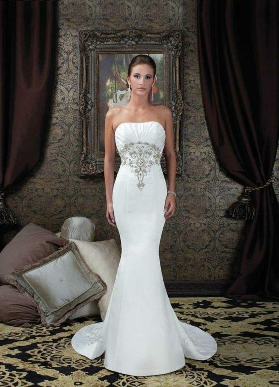 gorgeous a-line dress for hour-glass figure