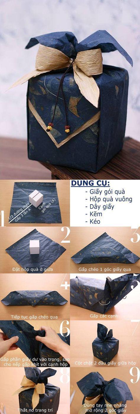 Gifts Wrapping & Package : Những cách gói quà này sẽ giúp bạn xử lý được các món quà ở nhiều hình dạng khác nhau nữa đấy!