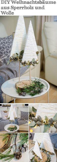 DIY Weihnachtsbäume