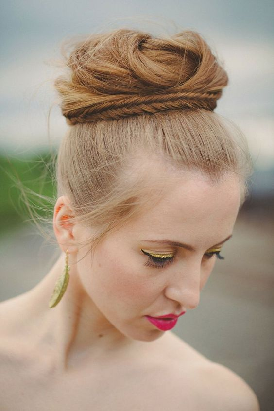 12 Romantic Buns You Must Have for Summer  #romantic #summer