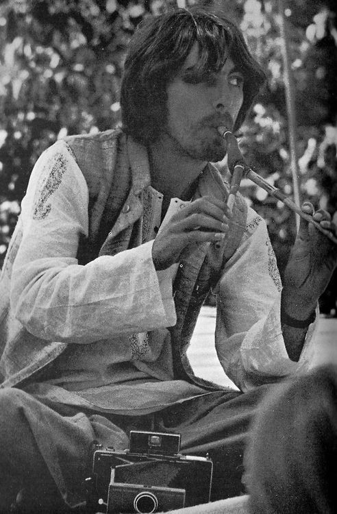 George Harrison in India 1968