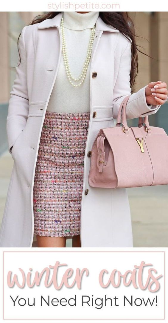 Winter coats you need right now! Cute fashion ideas for colder months. #coat #fashion