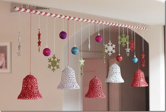 Simple Christmas Decorations with Christmas Jingle Bells_1