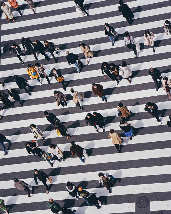 """The crosswalks in Japan are so mesmerising. The clean lines combined with the stylish people walking across make for some great images especially if you can get a unique vantage point..."" The @edwardkb #CreateExploreTakeOver starts now. by createexplore"