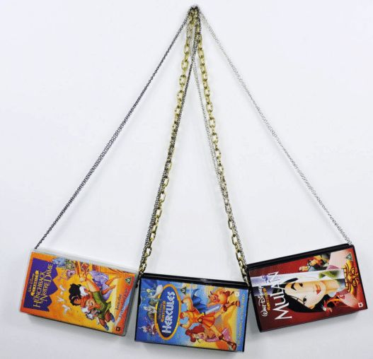 Disney VHS case purses