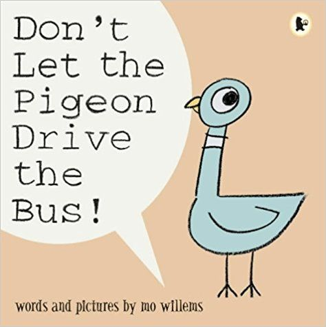 Don't Let the Pigeon Drive the Bus!: Amazon.co.uk: Mo Willems: 9781844285136: Books