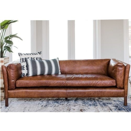 Mua sofa da thật ở đâu trang trí phòng khách nhỏ đẹp thu hút