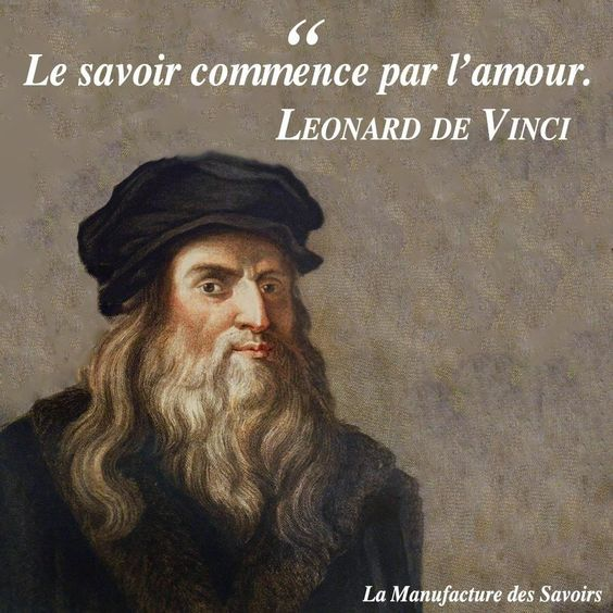 Léonard De Vinci  ( Citation ) 1a516220a586be3ddf3db5571c9cf0f8
