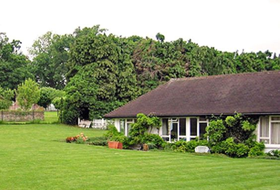 Kinfauns was a bungalow-style house, located at 16 Claremont Drive, Esher, Surrey, England, KT10 9LU, on the Claremont Estate. From 1964 to 1970 it was home of George Harrison