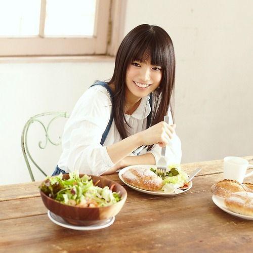 モーニングを食べるmiwa