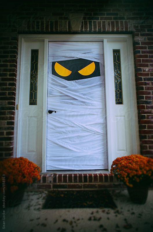 Stocksy United – Royalty-Free Stock Photos – Spooky Halloween Door ...