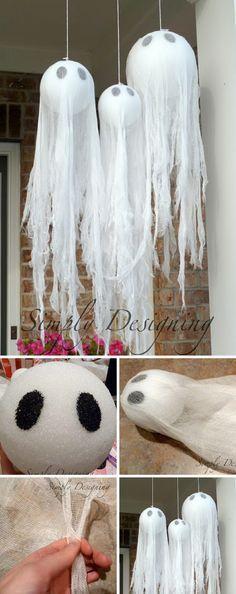 25 Easy and Cheap DIY Halloween Decoration Ideas: