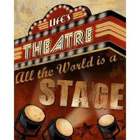 Lifes Theatre Canvas Art - Conrad Knutsen (22 x 28)