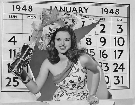 ladylikelady:  Diana Dors  Hereâs a calendar we can use this year.