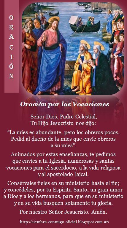 Oración por las Vocaciones-