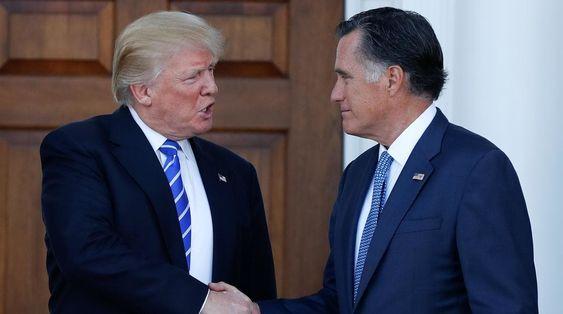 Trump attacks Romney over Washington Post op-ed