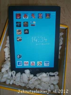 tablet als surprise voor sinterklaas